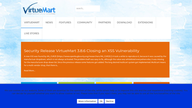 VirtueMart API koppeling