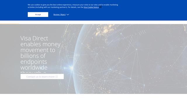 Visa-Direct API koppeling