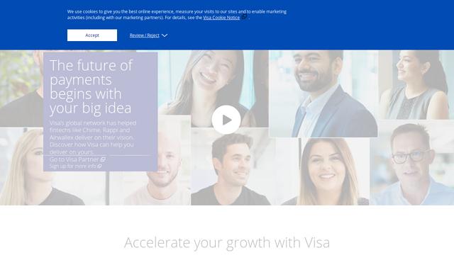 Visa-Fast-Track API koppeling