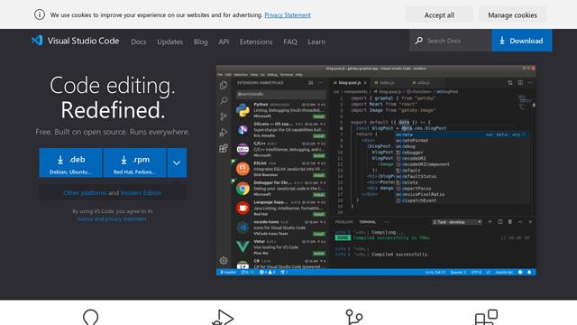 Visual-Studio-Code API koppeling
