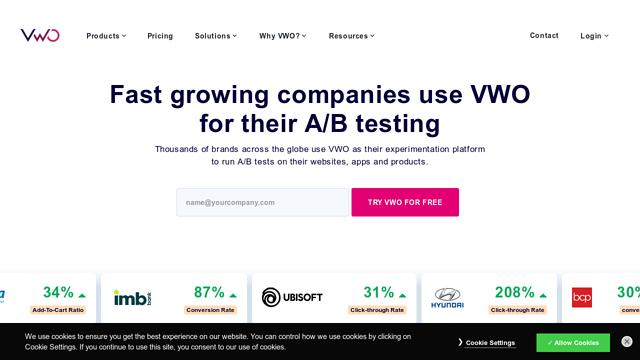 Visual-Website-Optimizer API koppeling