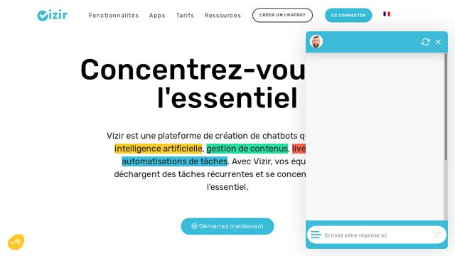 Vizir API koppeling