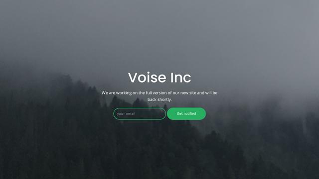 Voise API koppeling