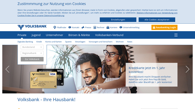 Volksbank API koppeling
