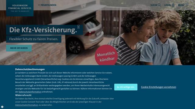 Volkswagen-Bank API koppeling