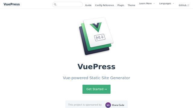 VuePress API koppeling
