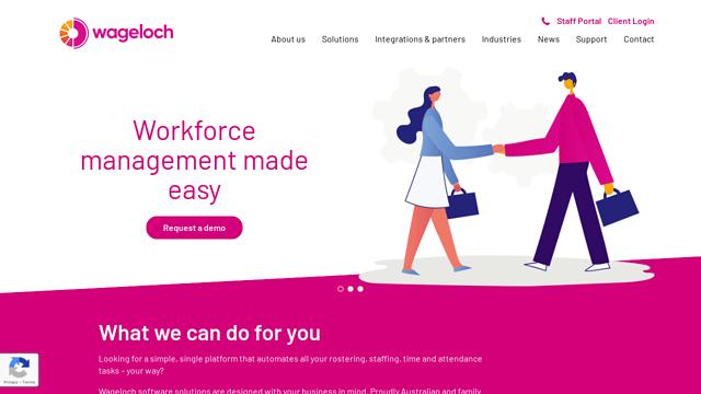 WageLoch API koppeling
