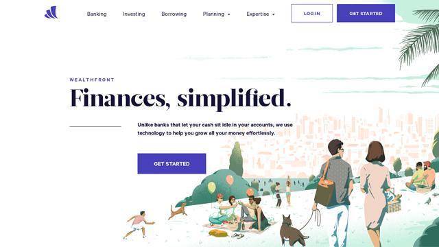 Wealthfront API koppeling