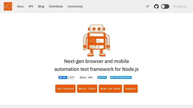 WebdriverIO API koppeling