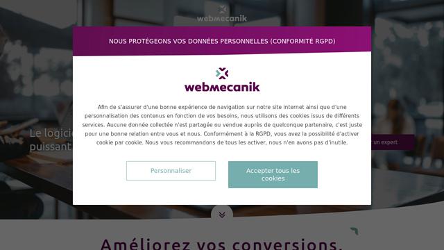 Webmecanik API koppeling