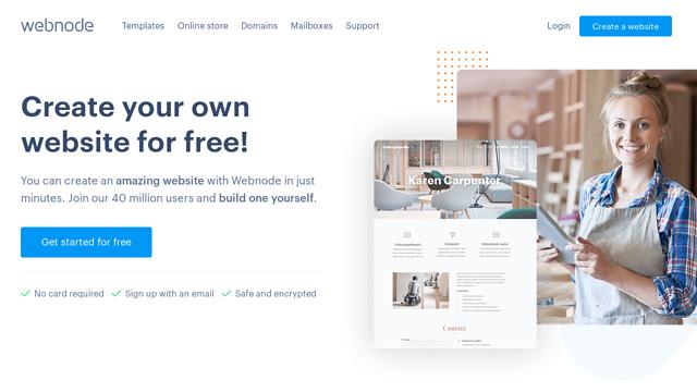 Webnode API koppeling