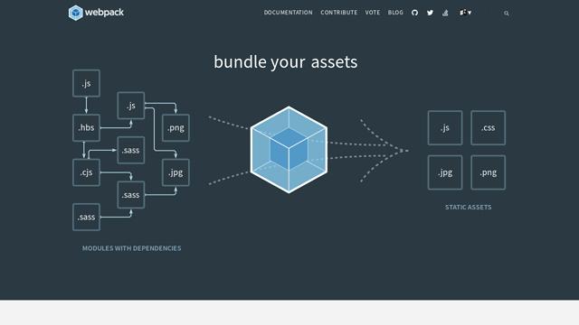 webpack API koppeling