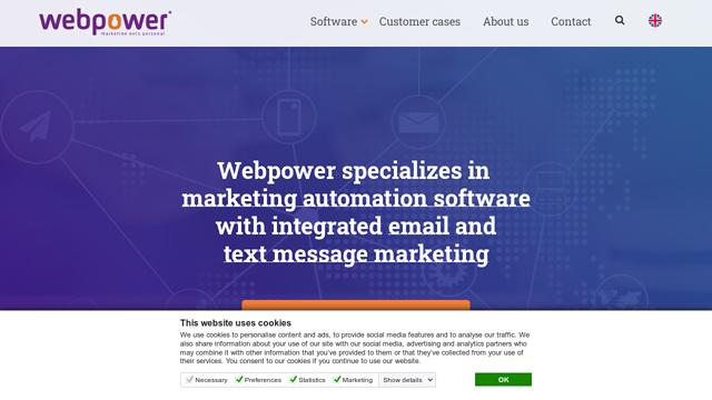 Webpower API koppeling
