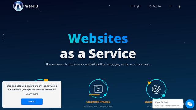 WebriQ API koppeling