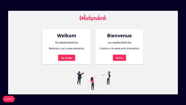 Weekendesk API koppeling