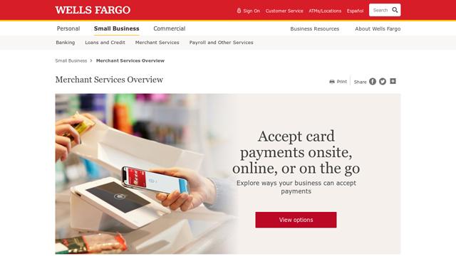 Wells-Fargo-Merchant-Services API koppeling