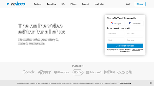 WeVideo API koppeling