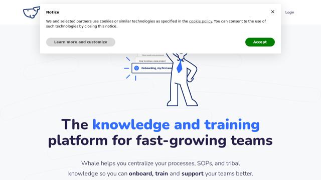 Whale API koppeling