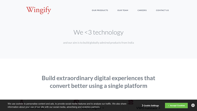 Wingify API koppeling