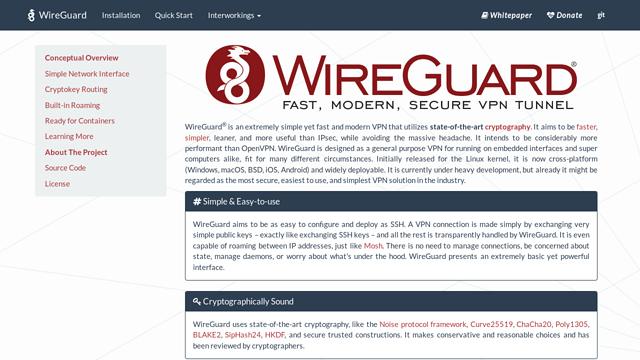 WireGuard API koppeling