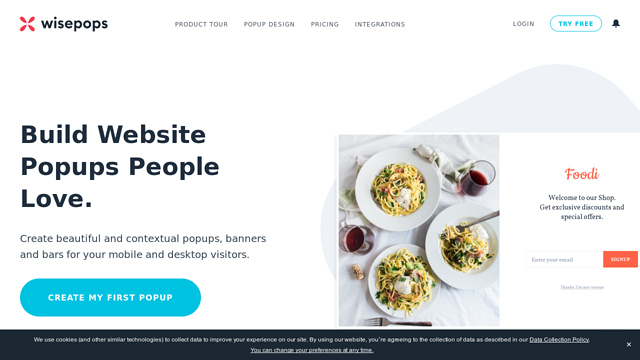 WisePops API koppeling