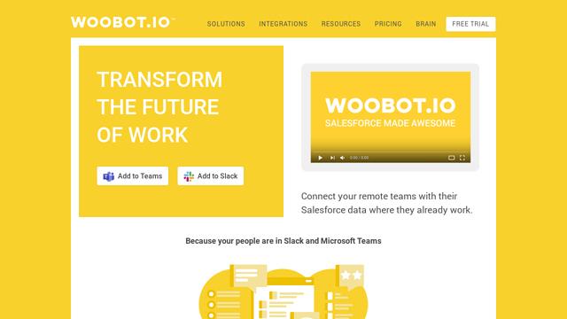 Woobot.io API koppeling