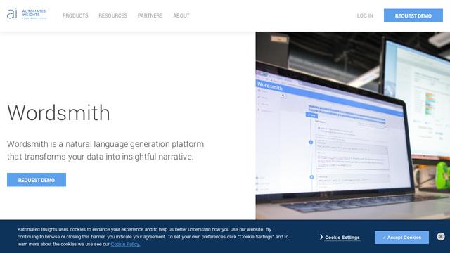 Wordsmith API koppeling