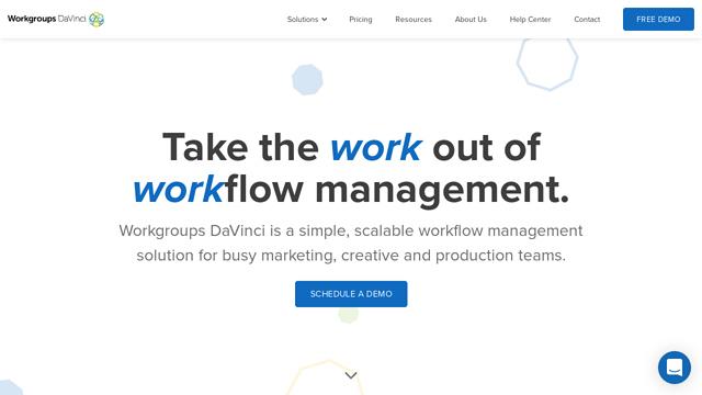 Workgroups-DaVinci API koppeling