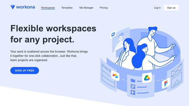 Workona API koppeling