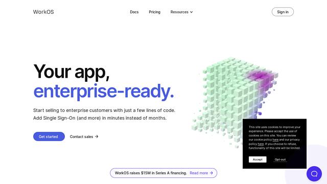 WorkOS API koppeling