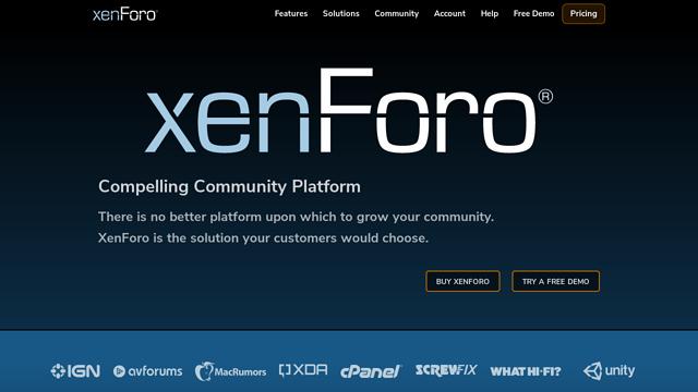 XenForo API koppeling
