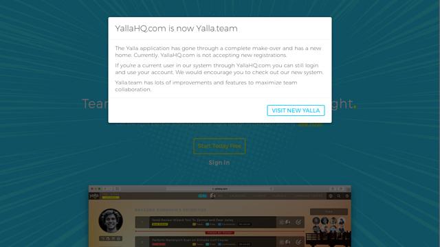 Yalla API koppeling