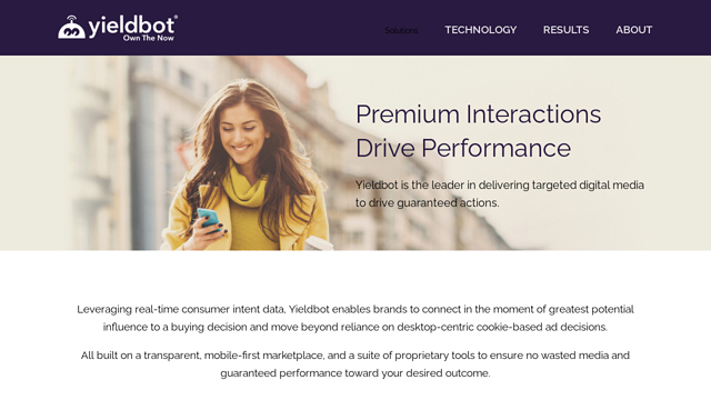 Yieldbot API koppeling