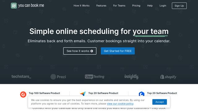YouCanBook.Me API koppeling