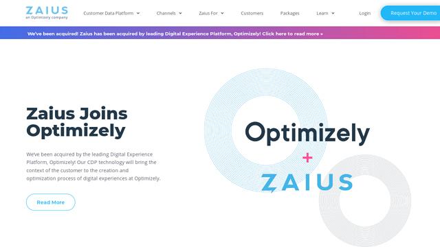 Zaius API koppeling