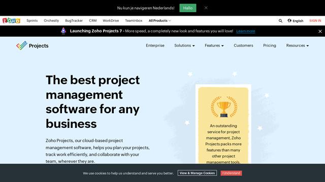 Zoho-Projects API koppeling