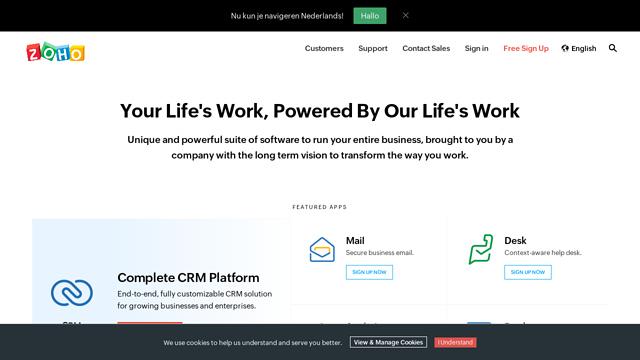Zoho-WorkDrive API koppeling