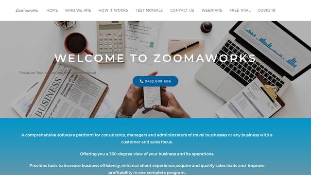 Zoomaworks API koppeling